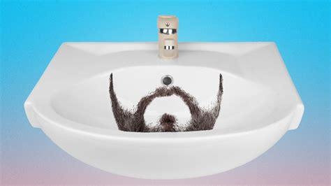plumbers guide   clogging  sink  shaving