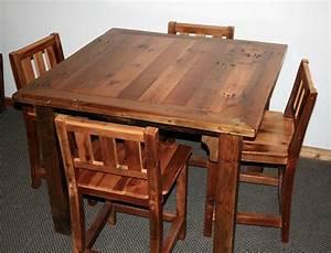 barn wood bar table barn wood furniture rustic With barnwood bar table