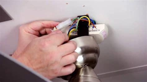 fix ceiling fan remote youtube