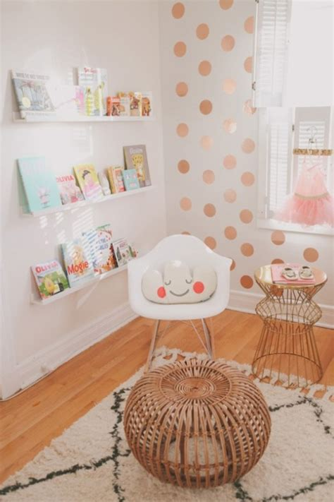 pretty  modern glam baby girl nursery inspiration