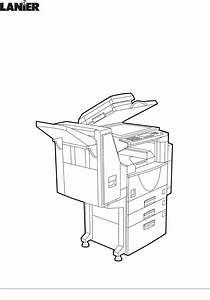 Lanier All In One Printer 5222 User Guide