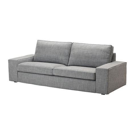 canape 2places kivik sofa isunda gray ikea