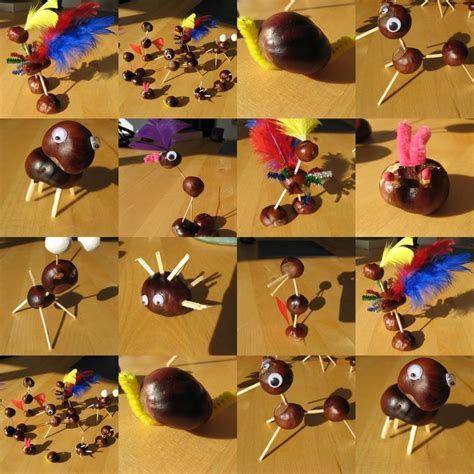 bricolage d automne patouillette et les monstres