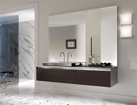 Large Frameless Bathroom Mirrors  Doherty House