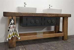 Meuble Salle De Bain Style Industriel : meuble de salle de bain industriel ~ Melissatoandfro.com Idées de Décoration
