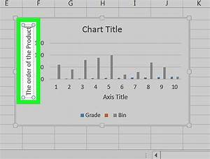 How To Label Axes In Excel 6 Steps With Pictures Wikihow