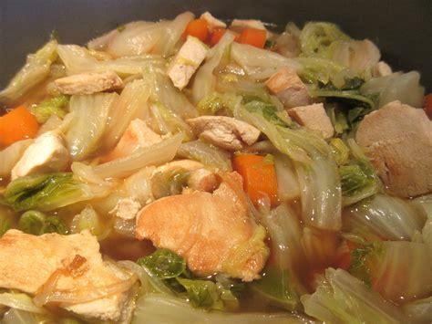 cuisiner le chou chinois en salade cuisiner le chou chinois chou chinois braisé aux