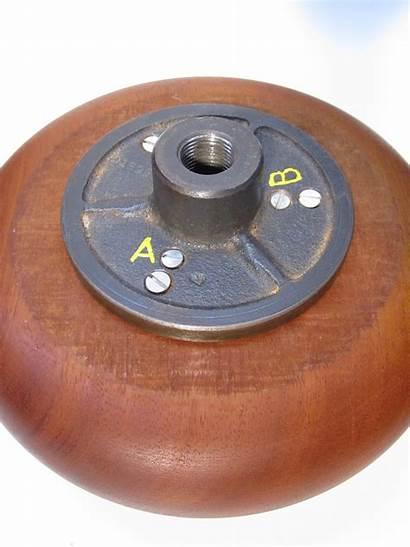 Wood Bowl Lathe Turning Shaft Threaded Assembly