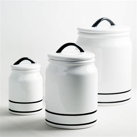 striped kitchen canister reviews joss main