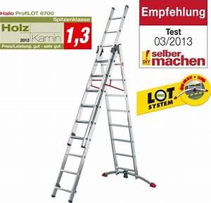Leiter 3 Teilig : hailo profilot aluminium kombileiter 3 teilig leiter schiebeleiter ebay ~ A.2002-acura-tl-radio.info Haus und Dekorationen