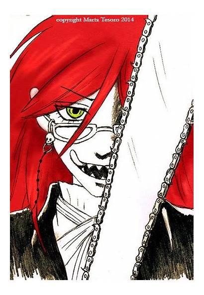 Grell Sutcliff Manga Butler Challenge Gua Draw