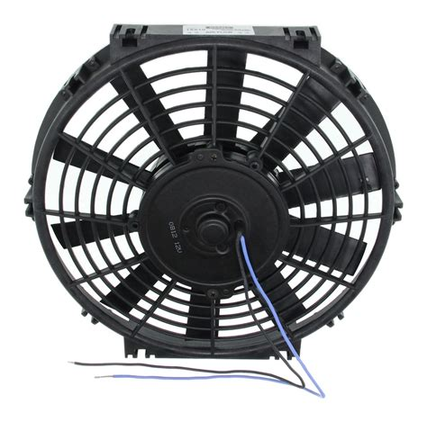 best electric radiator fans derale 10 quot dyno cool straight blade electric fan 500 cfm