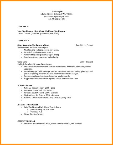 cover letter no work experience memo exle