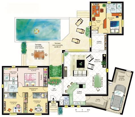 bureau okay bureau de maison design plan maison design moderne