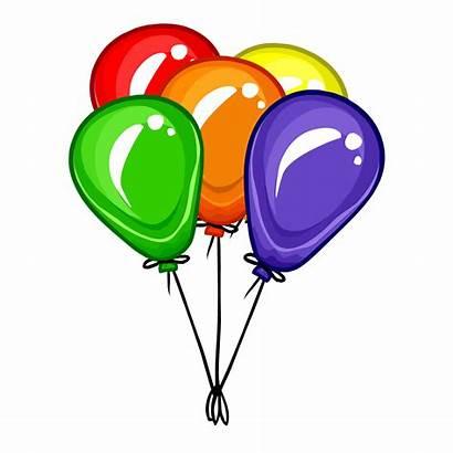 Balloons Balloon Clipart Bunch Transparent Station Panda