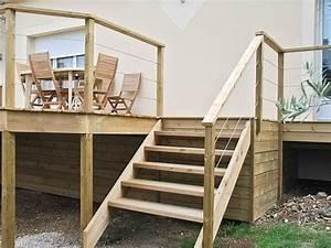 Escalier Extérieur En Bois : escaliers am nagements d 39 ext rieur bois jardins ~ Dailycaller-alerts.com Idées de Décoration