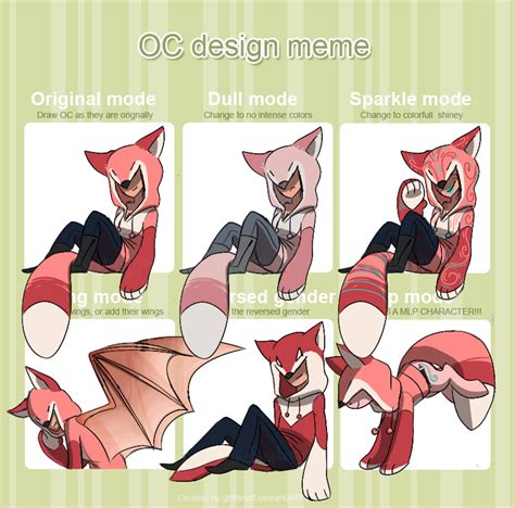 Meme Design - oc design meme by theraspberryfox on deviantart