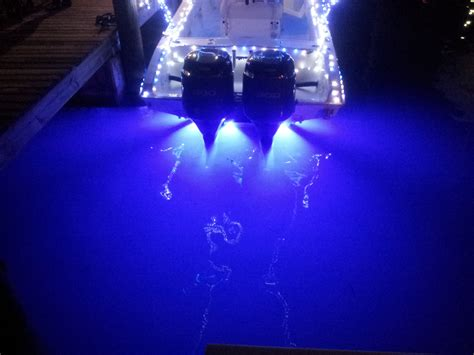 Boat Lights Location by What Underwater Lights Should I Get The Hull