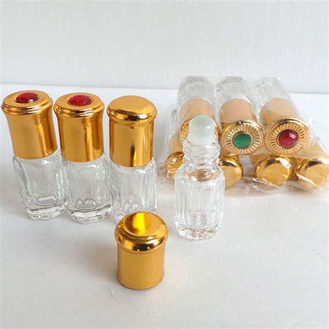 vonvon gold 50ml 1 pcs 50pcs lot 3ml empty roll on perfume bottle gold cap 6ml