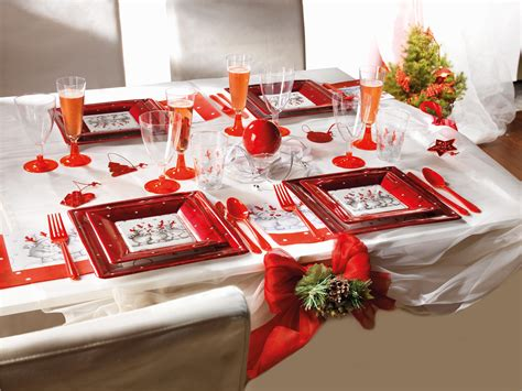 decoration table de noel pas cher noel 2017