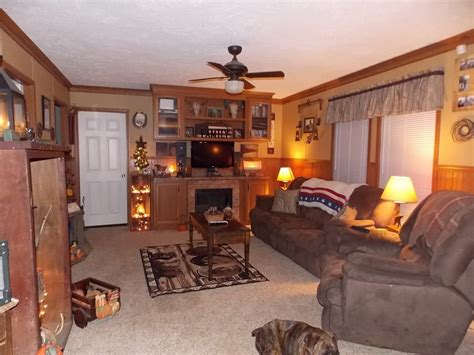 Living Room Decorating Ideas For Homes by Primitive Country Manufactured Home Decorating Ideas