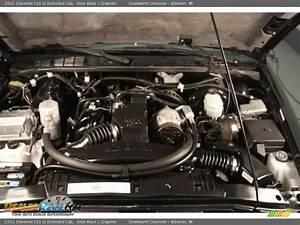 2001 Chevrolet S10 Ls Extended Cab 2 2 Liter 4 Cylinder Engine Photo  13