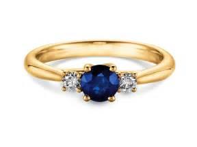 verlobungsring gelbgold saphir verlobungsring shining sapphire in 18k gelbgold 750 juwelier de