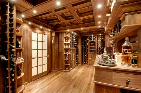 collection  lavish wine cellars  homes   rich