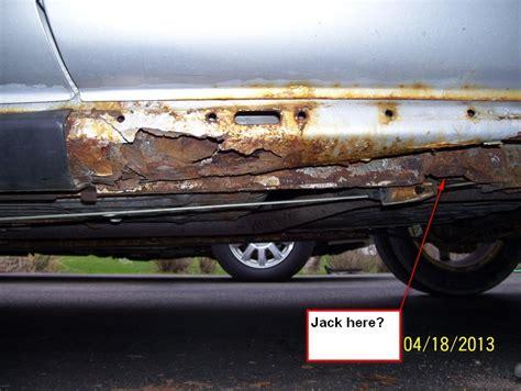 rustwaterrocker panel removal taurus car club