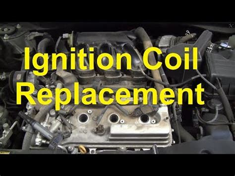 replace  ignition coil    toyota camry