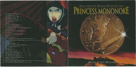 Princess Mononoke (mononoke Hime) Soundtrack (us) Mp3