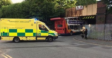 Dramatic Pictures Show Double Decker Bus With Roof Ripped