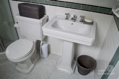 sinking in the bathtub 1930 s 1930s bathroom remodel classic and retro