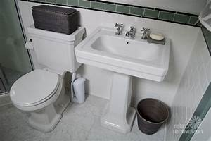 amy39s 1930s bathroom remodel classic and elegant retro With 1930 bathroom style