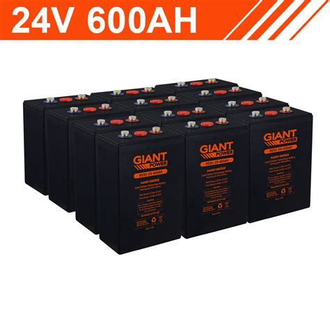 Kwh Carbon Lead Battery Bank Cells