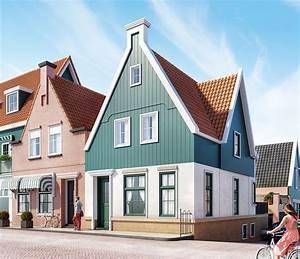 3d Exterior Volendammer House Scene Free Download