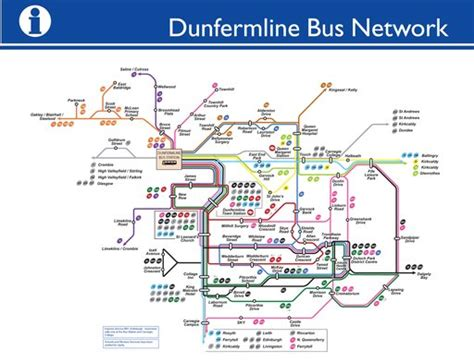 dunfermline bus system maplets