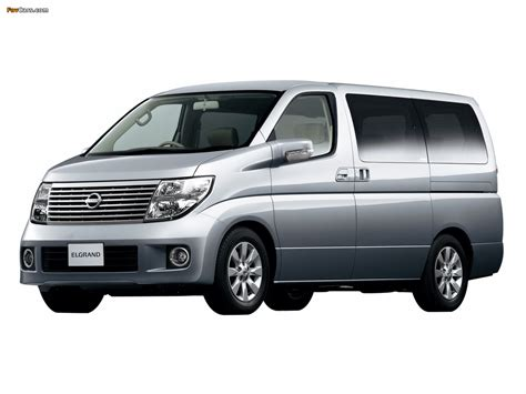 Nissan Elgrand Photo by Nissan Elgrand 51 2002 10 Photos 1280x960