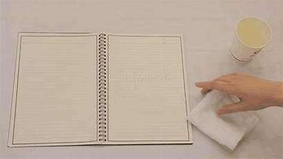 Erasable Notebook Paper Digital