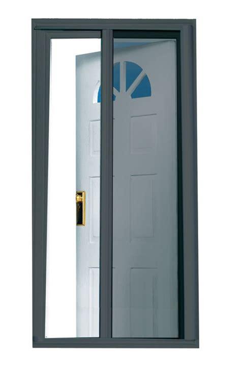 seasonguard charcoal 81 5 inch retractable screen door