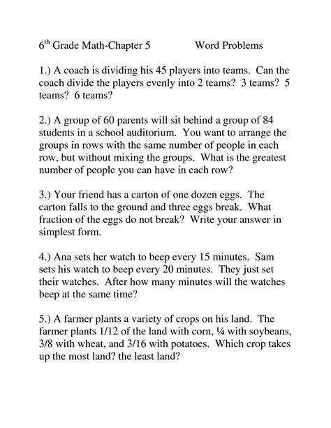 images   grade math worksheets word problems