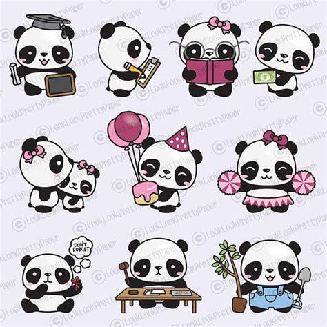 more clipart premium vector clipart more kawaii pandas more