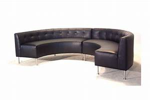 keep stylish and stunning only with a piece of half circle With half sofa half bed