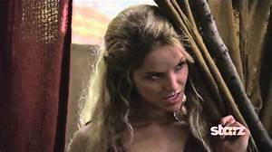 Ellen Hollman as SAXA on Spartacus, War of the Damned ...