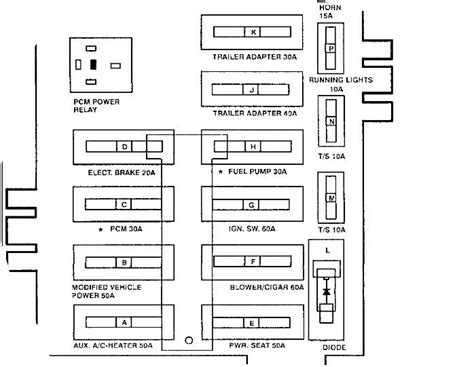 2010 Ford E250 Fuse Diagram by 1995 Ford Econoline I Turn The Key Half Way