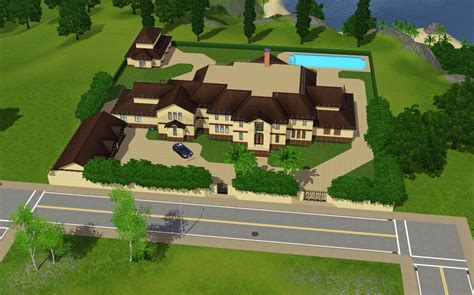 Sims 3 Floor Plans Mansion by Sims 3 Mansions By A Homes Of The Rich Reader Homes Of