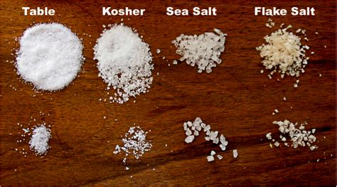 what is the difference between kosher salt and table salt question on kosher salt cooking cookbooks ingredients