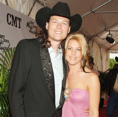 blake shelton first wife blake shelton put his first divorce quot up there quot with