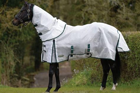 fly sheet horses neck mesh detach comfitec dura blanket market
