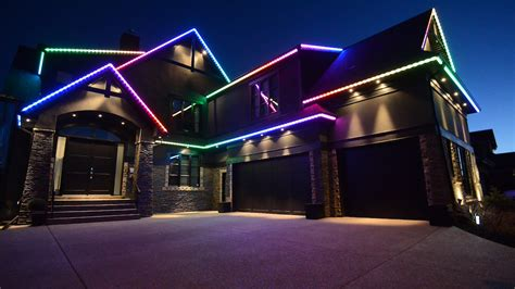 permanent led christmas lights calgary led lighting in calgary fort mcmurray heilight lighting